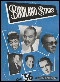 Birdland Stars of '56 Tour Program Cover